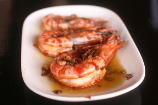 shrimp spring roll!